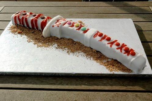 Sword B-Day Cake